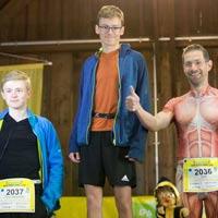 Foto der Siegerehrungen 12. Münchner-Kindl-Lauf 2019