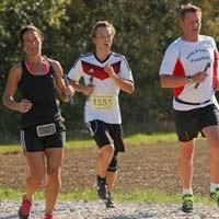 Foto Starnberger Landkreislauf in Inning am 13.10.2018. Sechste Etappe