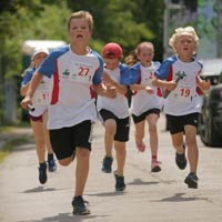 Foto 9. Würmtaler Staffellauf Gräfelfing 2019. Kinderstaffel
