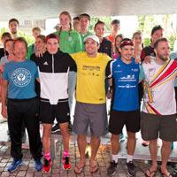 Bild Siegerehrung Triathlon Wörthsee 2019